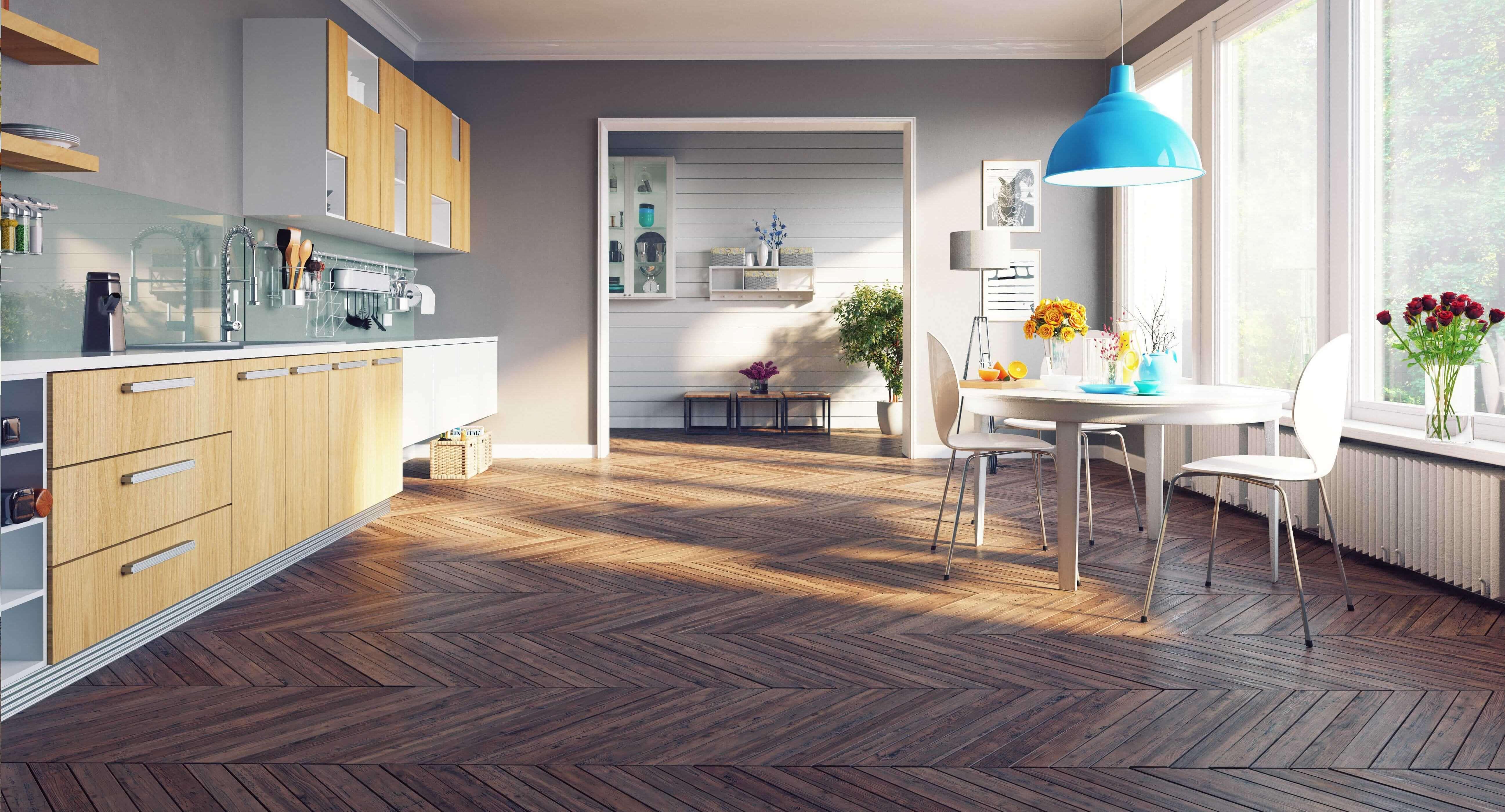 Bodenbelag einer Küche von Ambiente Ackermann